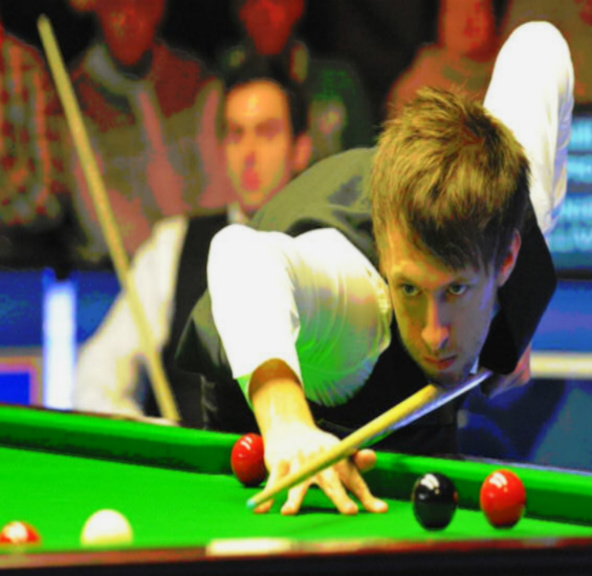 Judd takes to the baize today.