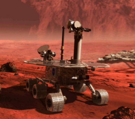 robot goes to mars - photo #8