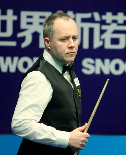 John Higgins: Beginning to look a bit more like ermm, John Higgins.