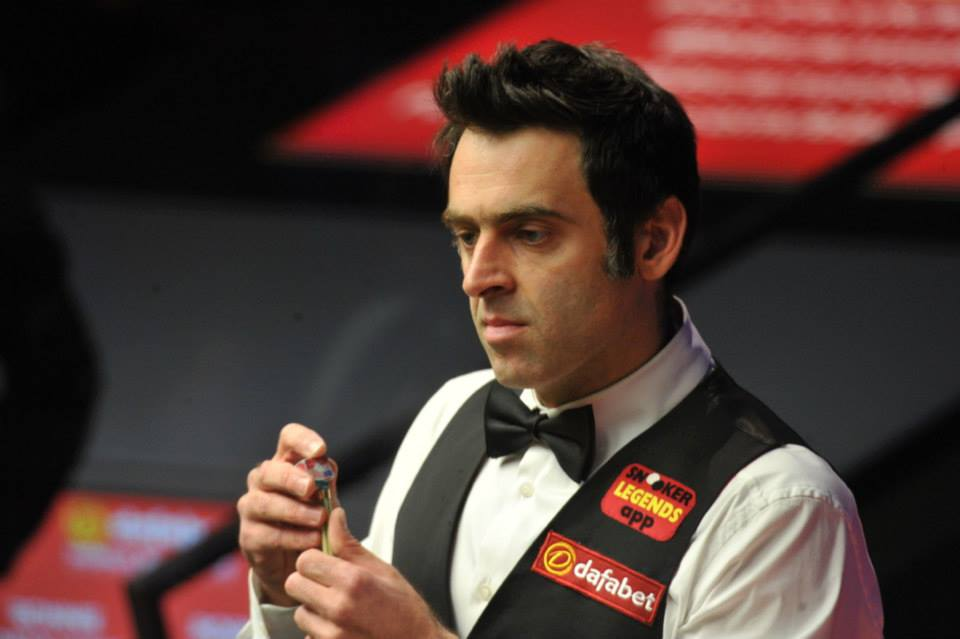Ronnie continues his defence on Thursday.