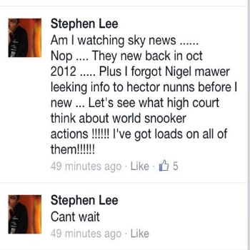 Lee Facebook 2