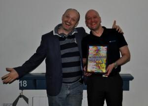 The Bald Truth: Mark Jones and Jamie.