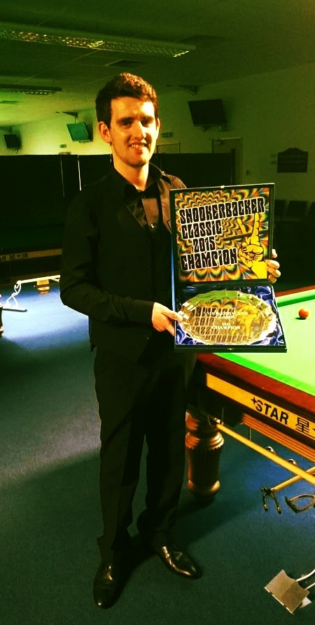 Brett Miller: The 2015 Snookerbacker Classic Champion